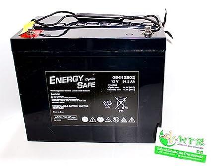 Batteria al piombo ENERGY SAFE 12V 90 Ah Ciclica