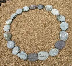 伊予青石 (自然石:丸石) (20石組) B07PV79NXT