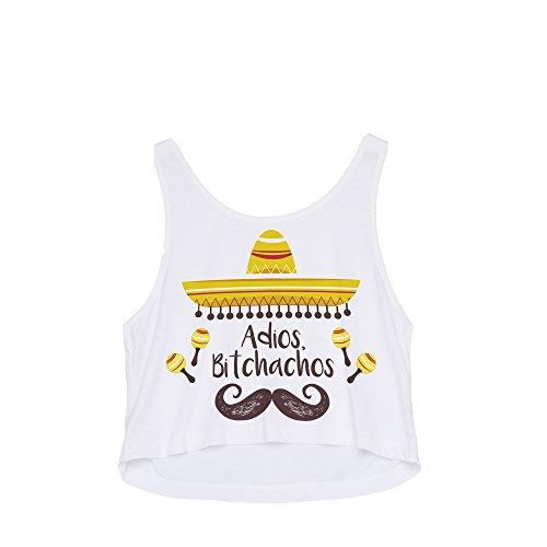 Bitchachos shirt Adios Donna Fringoo T xHvqIHz