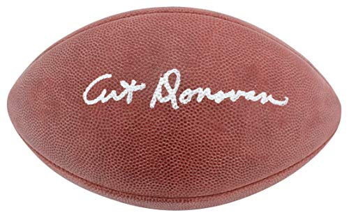 Colts Art Donovan Authentic Signed Official Wilson Nfl Football Autographed BAS