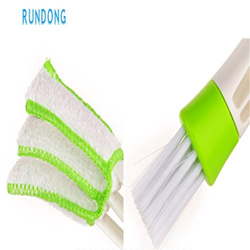 Sujing Air-condition Cleaner Computer Clean Tools Window Leaves Blinds Cleaner Duster Pocket Brush Keyboard Dust Collector by Sujing (Image #5)