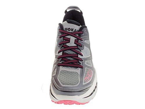ONE Womens ONE HOKA Shoe Running Stinson Pink Neon Grey 3 HE5rqwqAd