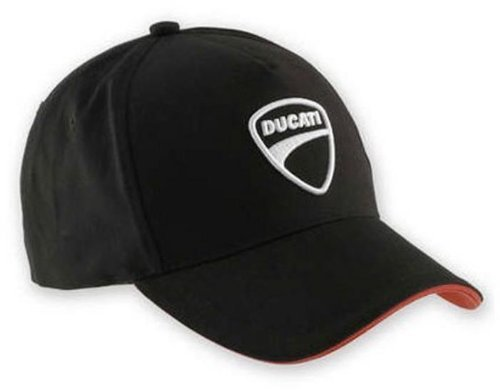 Ducati Company Hat Black 5 Panel Adjustable Embroidered 987688704
