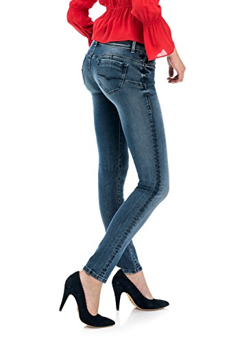 en dlav Denim Shape Bleu Up Salsa Slim Jean zFqf77A