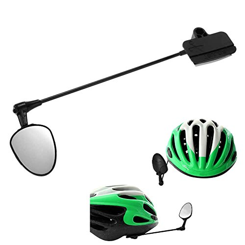 SCASTOE Bike Bicycle Cycling Helmet Mirror Rear View Rearview Safety Reflectors Sport