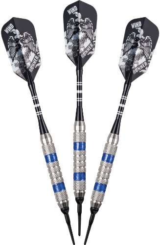 Viper Barrel - Viper Wind Runner Soft Tip Darts, Blue Rings, 18 Grams