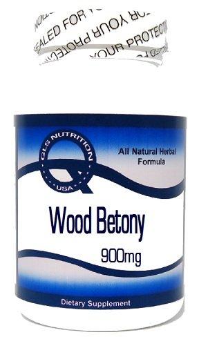 Древесина Betony 900 мг 100 капсул ^ GLS