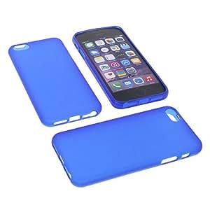 Funda para Apple iPhone 5 SE Funda protectora de goma TPU para móvil azul