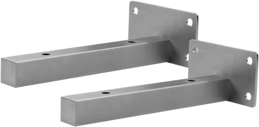 21075000 Staffa per mensola galleggiante in acciaio solido