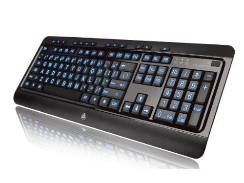 Aluratek LED Backlght Gaming Keyboard (AKB505U)
