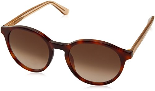 Beige Havana Sunglasses - Tommy Hilfiger Th1389s Round Sunglasses, Havana Beige/Brown Gradient, 52 mm