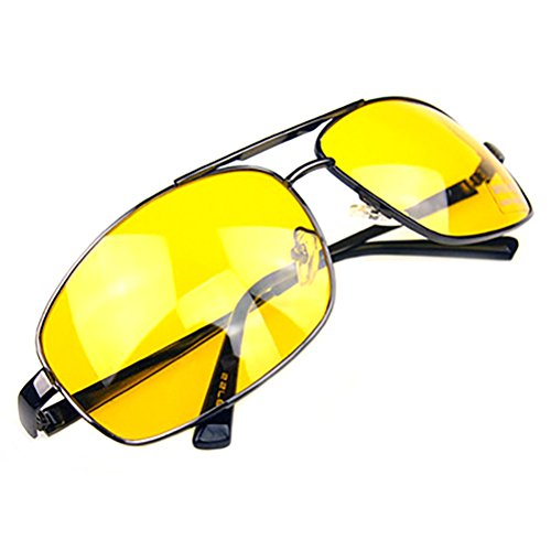 GAMT Night Driving Glasses Anti Glare Vision Driver Safety Sunglasses Style - Church Sunglasses Eric