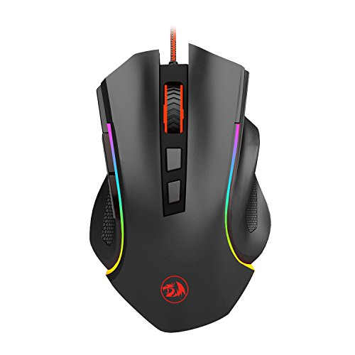 Redragon M602 Wired Gaming Mouse, RGB Spectrum Backlit Ergon
