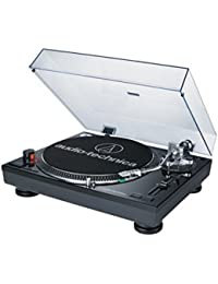 AT-LP120BK-USB Direct-Drive Professional Turntable (USB & Analog), Black