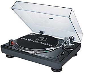 Audio-Technica AT-LP120BK-USB Direct-Drive Professional Turntable