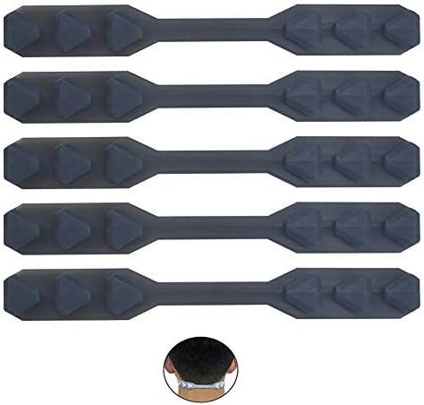 Maskenverlängerungsgurt, Maskenhalter, Maskenverlängerung zum Verlängern von Masken, Schnallenband für Erwachsene und Kinder, 5Pack