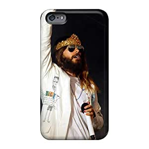 Best-phone-covers Apple Iphone 6 Scratch Resistant Hard Phone Cover Support Personal Customs Trendy 30 Seconds To Mars Band 3STM Skin [hwF1790Jpxf]