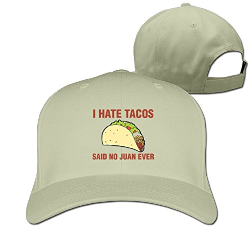 I Hate Tacos Said No Juan Women's Hat Men Hi-Q