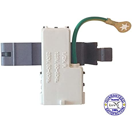 LONYE 3 Pin 8318084 Washer Door Lid Switch For Whirlpool Kenmore Roper Maytag Estate Sears Replacement AP3180933 PS886960