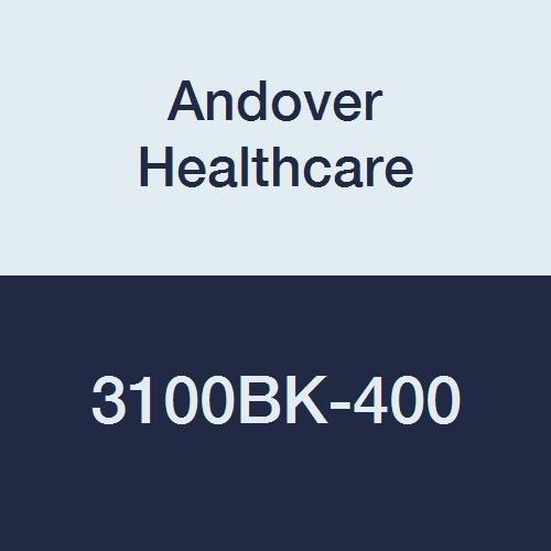 Andover Healthcare 3100BK-400 Coflex Non-Woven Cohesive Self-Adherent Wrap, 15' Length, 1'' Width, Black, Latex Bulk (Pack of 400)