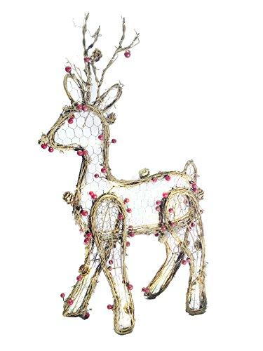 Outdoor Christmas Light Up Reindeer - 7