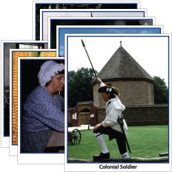 Hands-On Heritage Photo Activity Cards, Colonial America
