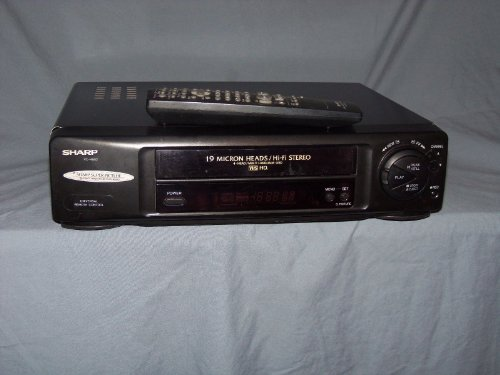 Sharp Vc h952u Micron Player recorder