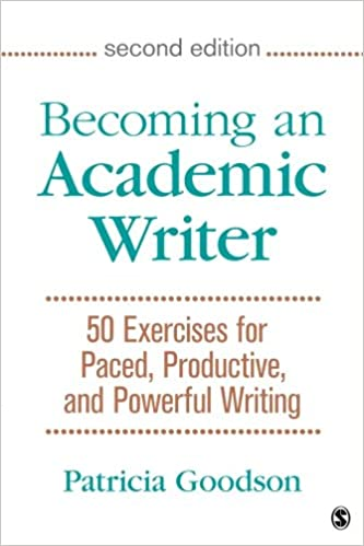Becoming An Academic Writer 50 Exercises For Paced