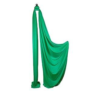 Firetoys Aerial Silk (Aerial Fabric / Tissus) – Kelly Green-8 metres
