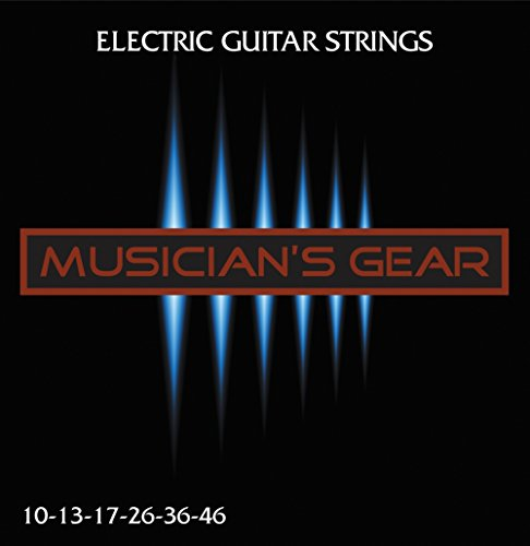 Musician's Gear Electric 10 Nickel Plated Steel Guitar Strings from Musician's Gear