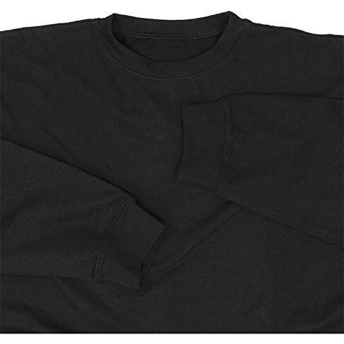 a 'athen' fino Large In Sweatshirt 14xl By Adamo Black Taglie Sn8wxq