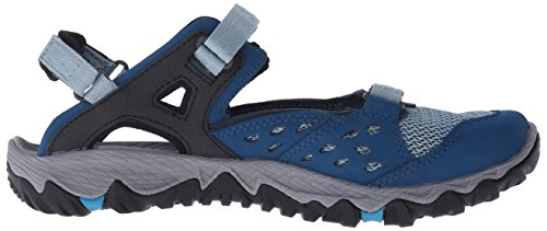 Merrell Womens All Out Blaze Setaccio Mary-jane Water Shoe Blu