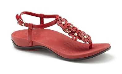 Vionic Julie - Womens Orthaheel Sandals Teal - 10