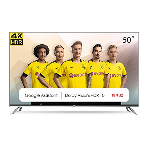 CHiQ U50H7A – 50 inch 4K Ultra HD – Android 9.0 – Chromecast – Dolby Audio