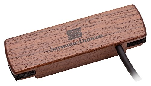 Acoustic Guitar Soundhole Preamp - Seymour Duncan Woody HC SA-3HC Hum-Canceling Acoustic Soundhole Pickup - Walnut