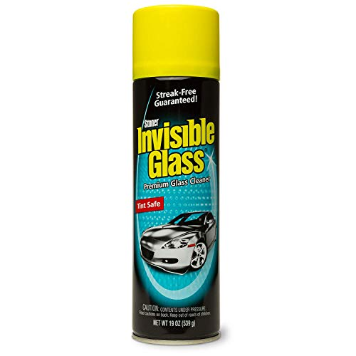 Invisible Glass 91164 - Cleaner for Auto and Home for a Streak-Free Shine, Deep-Cleaning Foaming Action, Safe for Tinted and Non-Tinted Windows, Ammonia Free Foam Glass Cleaner, 19 ()