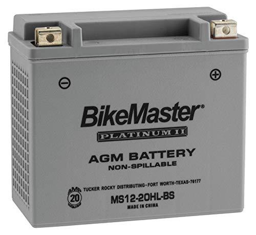 (BikeMaster AGM Platinum II Battery MS12-20HL-BS For Honda VF1100S V65 Sabre 1984-1985)