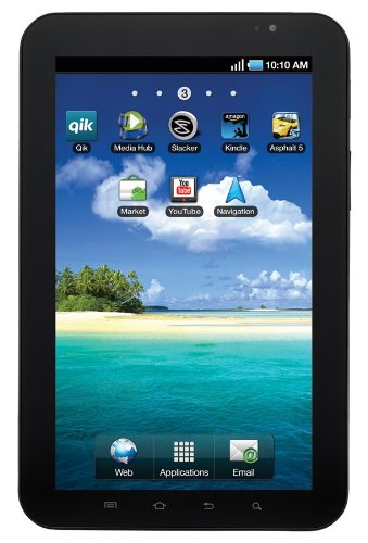 Price comparison product image Samsung Galaxy Tab (7-inch, 16GB, Wi-Fi)