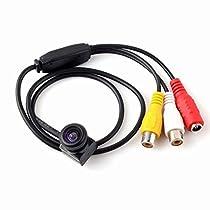 Micro Audio Wired Camera HD Mini CCTV Security Camera 600TVL 5 Megapixel with AV Cable 205AV WD