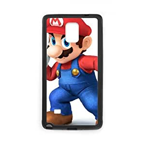 Samsung Galaxy Note 4 Cell Phone Case Black Super Smash Bros Mario OJ487012