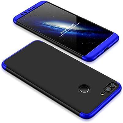 Funda Huawei Honor 9 Lite 360 Grados Azul Negro Ultra Delgado Todo ...