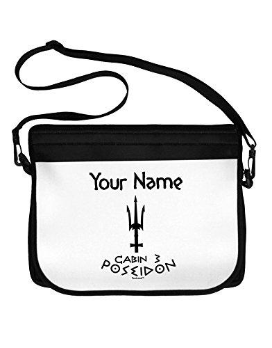 TooLoud Personalized Cabin 3 Poseidon Neoprene Laptop Shoulder Bag by TooLoud