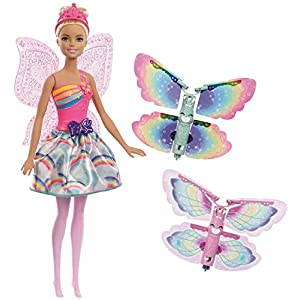 41yoPwt0%2BzL. SS300  - Barbie Dreamtopia Flying Wings Fairy Doll