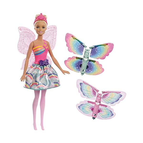 41yoPwt0%2BzL. SS600  - Barbie Dreamtopia Flying Wings Fairy Doll