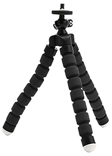 Portable Tripod With Phone Holder Clip For Gopro  Smartphone  Compact Cameras And Dslrs