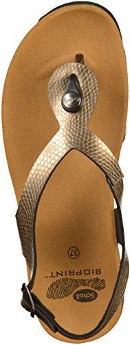 Platinum Sandal Kenna Dark F27093 Thongs Womens Scholl pFxgw4