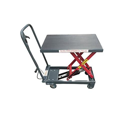 Pake Handling Tools - Hydraulic Manual Scissor Lift Table, 1000lbs