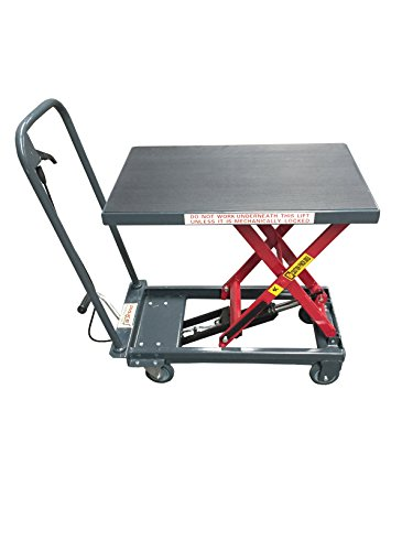 Pake Handling Tools - Hydraulic Manual Scissor Lift Table, 1000lbs from Pake Handling Tools