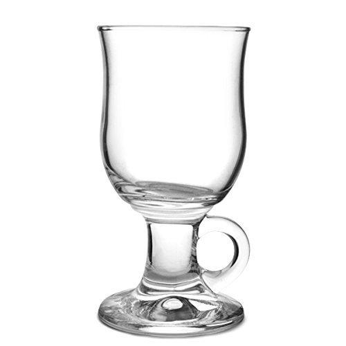 Durobor 1907/24Mazagran Irish Coffee Glass 240ml, 6Glass Filler, without Bearings