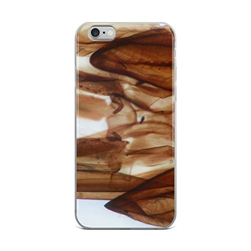iPhone 6 Plus/6s Plus Case Anti-Scratch Creature Animal Transparent Cases Cover This is A Cross Section of A Bee's Head Yep That's Ri Animals Fauna Crystal Clear